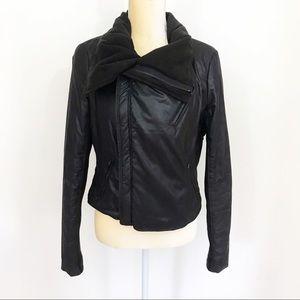 BCBGMaxazria • Drape Moto Jacket